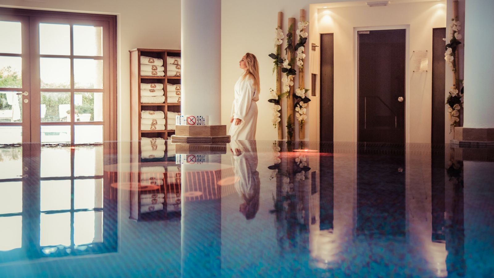 All you need for a relaxing Honeymoon at the Arabella Spa at the St. Regis Resort Mardavall