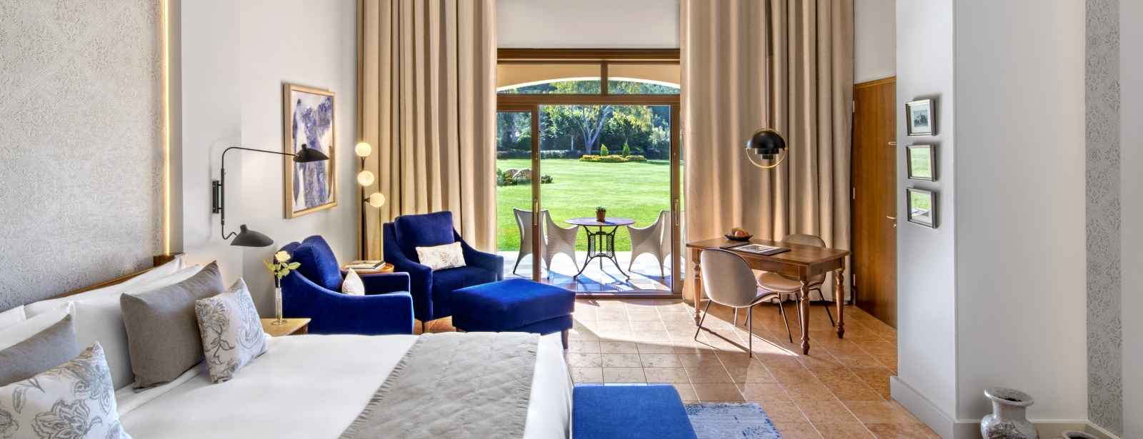 New refurbished Junior Suite with Garden View at The St. Regis Mardavall