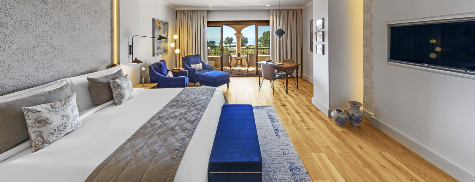 New refurbished Junior Suite with Sea View at The St. Regis Mardavall